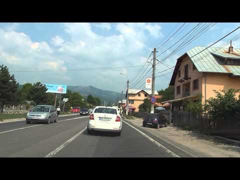 Drive Romania:  BUCUREȘTI - Autostrada A3 - PLOIEȘTI - SINAIA - BUȘTENI (1 h : 51m)