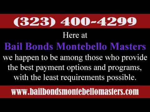 How Bail Bonds work in Montebello California.