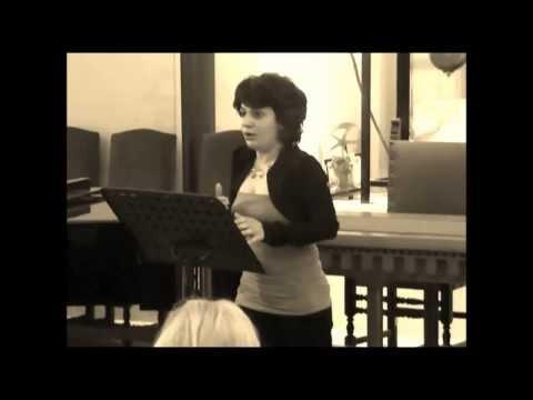 Alban Berg - 'Sieben Frühe Lieder' - 2. Schilflied - Soprano Gloria Labbadia