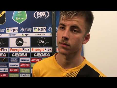 INTERVIEW   Luka Ilic na NAC - De Graafschap (3-0)