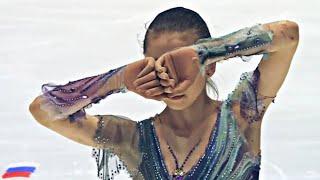 Камила Валиева Kamila Valieva Произвольная программа Чемпионат мира среди юниоров 2020