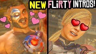 MORTAL KOMBAT 11 (NEW) FLIRTY INTROS & Best Funniest Flirtiest Intros MK11