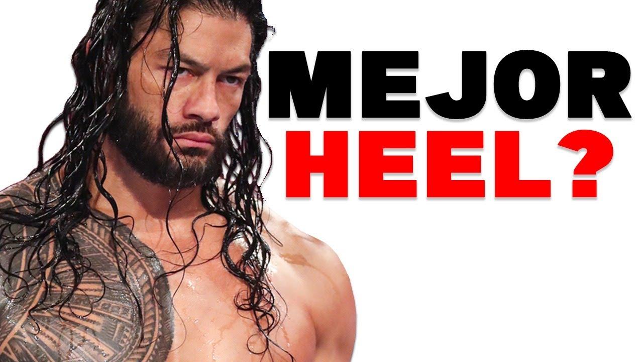 Es Roman Reigns ¿EL MEJOR HEEL?