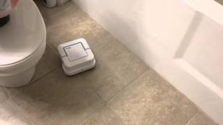 irobot braava jet cleaning bathroom corner behavior