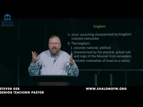 What's So Jewish About Restoration Of Israel's Kingdom? Jewish Journey Through Acts With Steven Ger