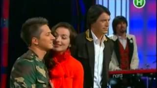 Надежда Мейхер в Педан  Притула Шоу от 26.05.2013.