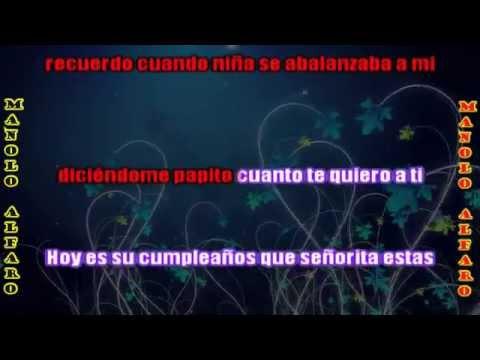 15 AÑOS, Manolo Alfaro Con Letra / LAS-PRODUCCIONES Chile