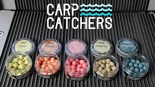 Насадки для ловли карпа новые поп апы Carp Catchers линейка washed out