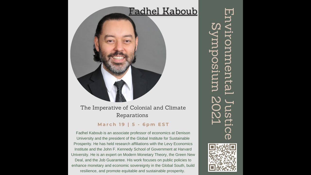 The Imperative of Colonial and Climate Reparations by Fadhel Kaboub