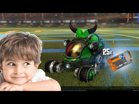 HILARIOUS 5 YEAR OLD SCAMS MY FRIEND   Rocket League