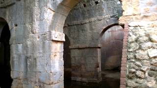 Ancient Roman cistern in Aptera