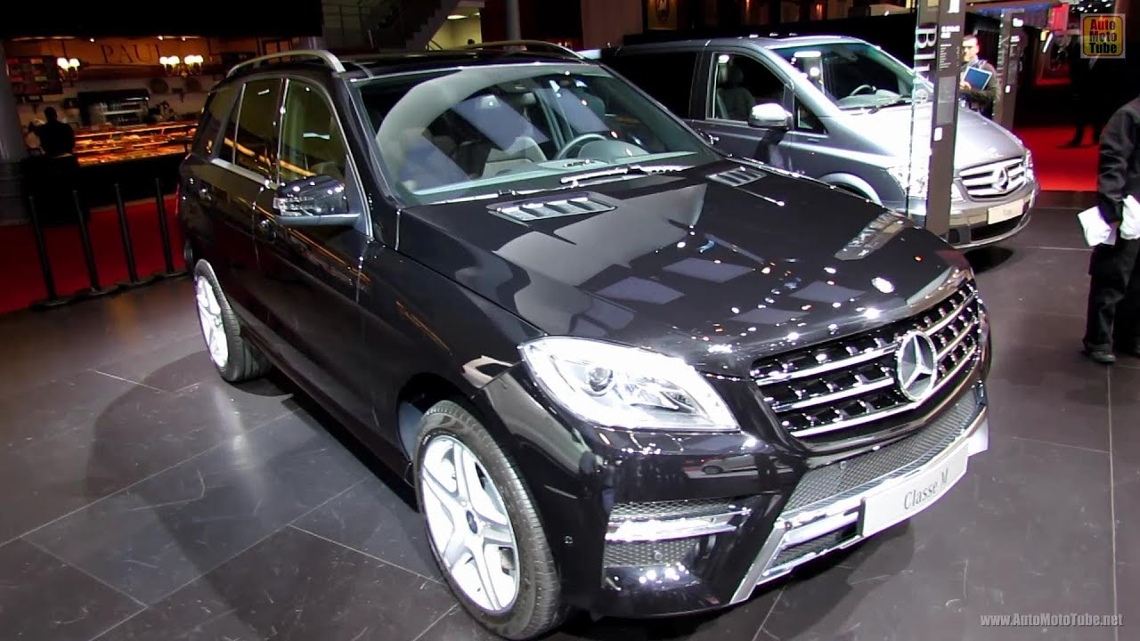 2013 Mercedes Benz Ml250 Bluetec 4matic Exterior And Interior Walkaround 2012 Paris Auto