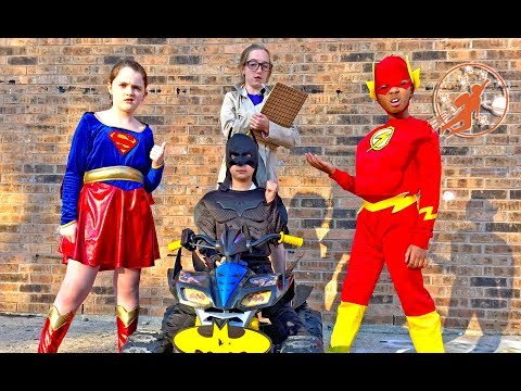 New Sky Kids Super Episode - Little Superheroes with Batman, Supergirl and The Flash