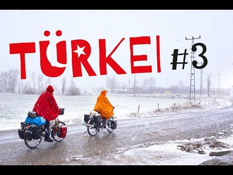 Winter Bicycletouring in Turkey Part 3 - Cappadokia