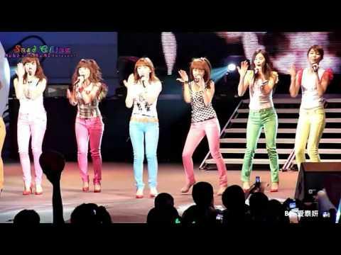 HD Fancam SNSD 090509 HD직캠 Hollywood Bowl Concert 2009 소녀시대   소내시대+Gee+힘내
