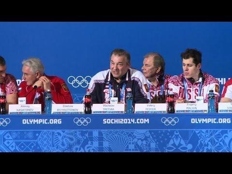JO-2014: l'équipe russe de hockey sur glace sous haute pression