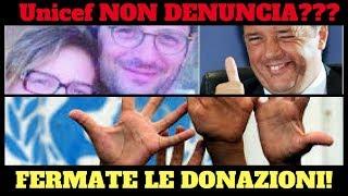 Matteo Renzi e Famiglia Conticini - Denuncia UNICEF o BOICOTTIAMO!