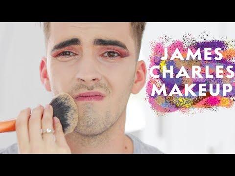 WYGLĄDAM JAK JAMES CHARLES - Dziewczyna robi mi makeup thumbnail