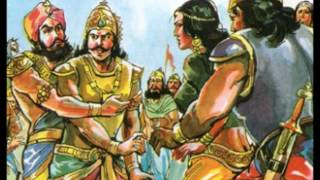 MAHABHARATA CHAPTER 40 DURYODHANA DISGRACED