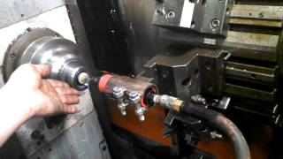 Grinding 5C Spindle on CNC Lathe