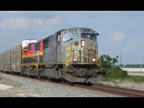 Railfanning Rosenberg, TX on National Train Day with Some Great Catches!