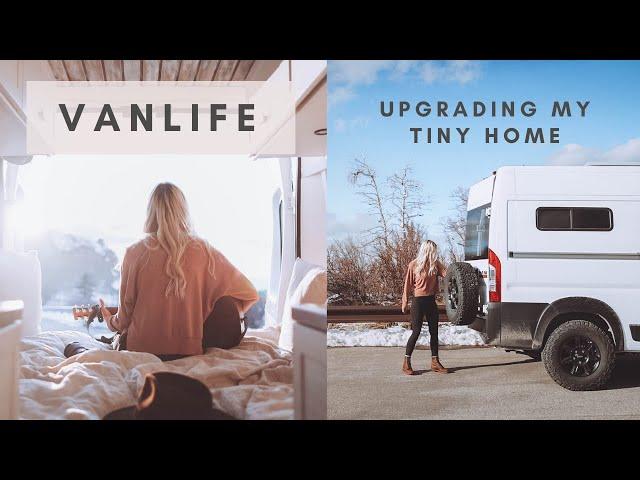 Van Life | Upgrading my Tiny Home