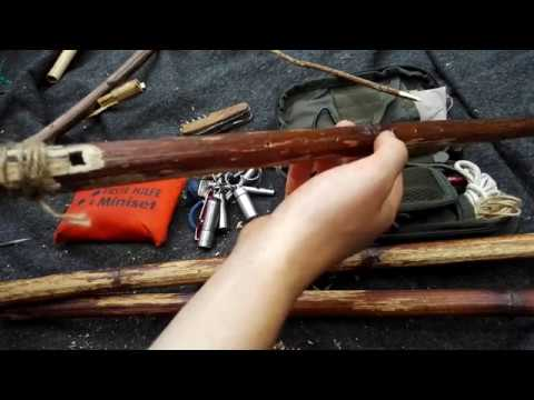 DIY Knöterichflöte bauen Survival Bushcraft