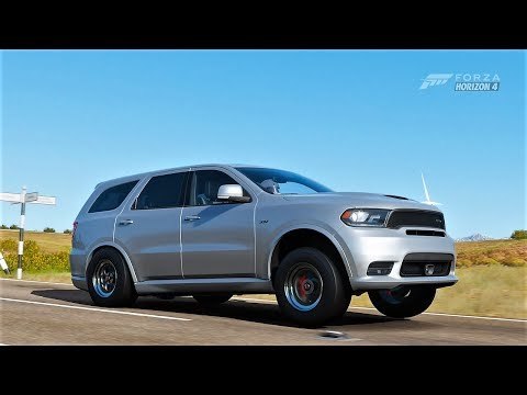 Forza Horizon 4| 1,100HP+ 2018 DODGE DURANGO SRT [Drag Build] V10