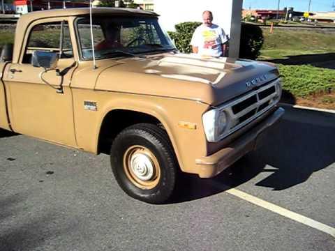 70 Dodge truck - YouTube
