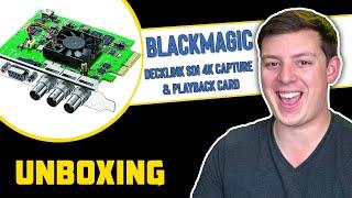 Decklink SDI 4k Unboxing | Hacking Hollywood