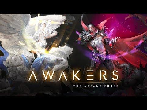 AWAKERS Android Rpg Strategy Game обзор андроид РПГ игры