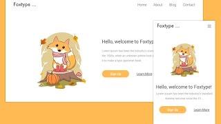 Foxtype Responsive Web Design in Sketch Tutorial