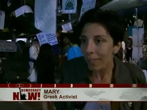Democracy Now! Exclusive Report from Greece as US Aid Ship Hopes to Sail With Gaza Flotilla