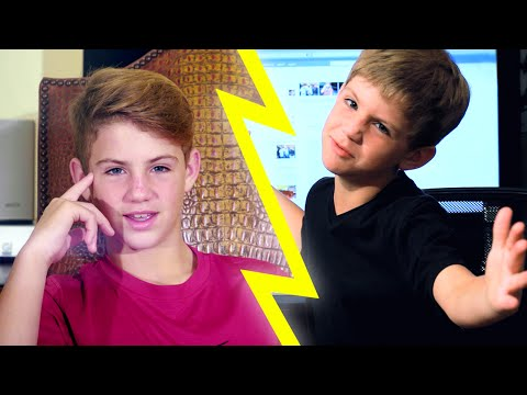 Kid MattyBRaps VS Teen MattyBRaps!!!