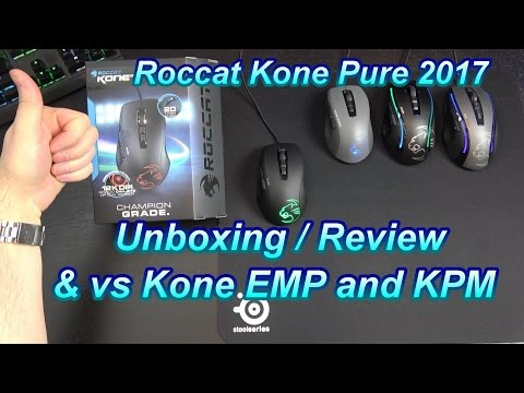 Roccat Kone Pure 2017 gaming mouse  in-depth review