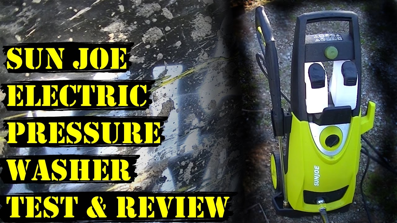Sun Joe Spx3000 Electric Pressure Washer Review And Test Youtube