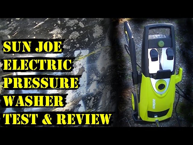 Sun Joe SPX3000 Electric Pressure Washer (REVIEW and TEST)