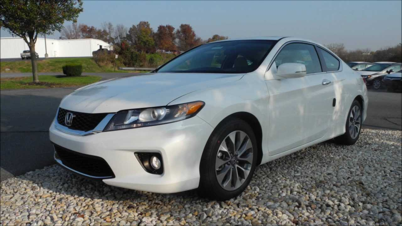 2013 Honda Accord Coupe Ex L Cvt White Orchid Pearl Youtube