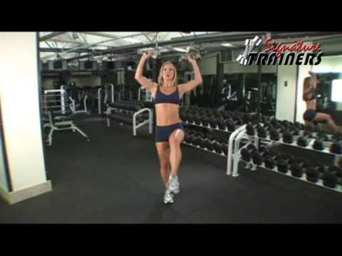 Deadlift with Leg Extension and Overhead Press