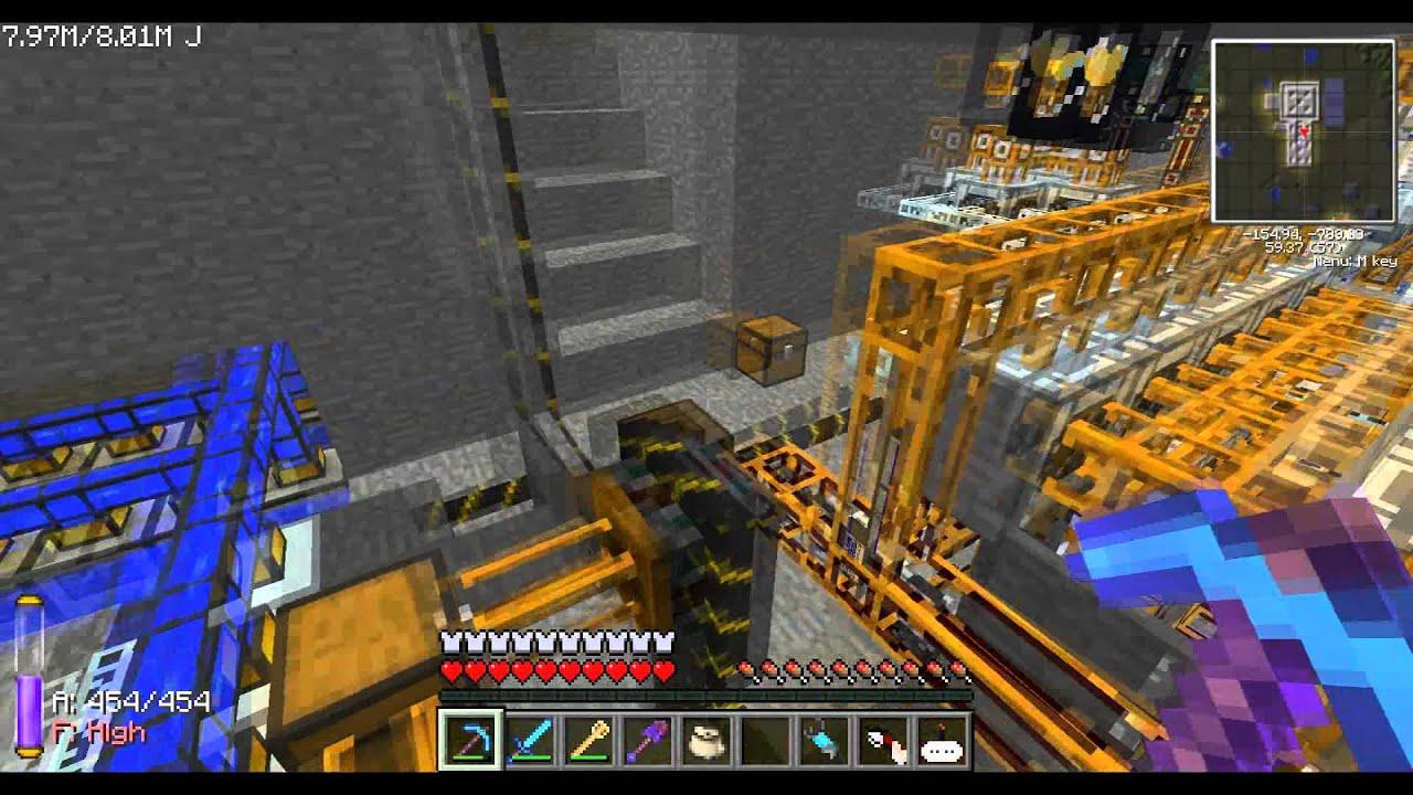 minecraft - self sustaining fusion reactor - youtube