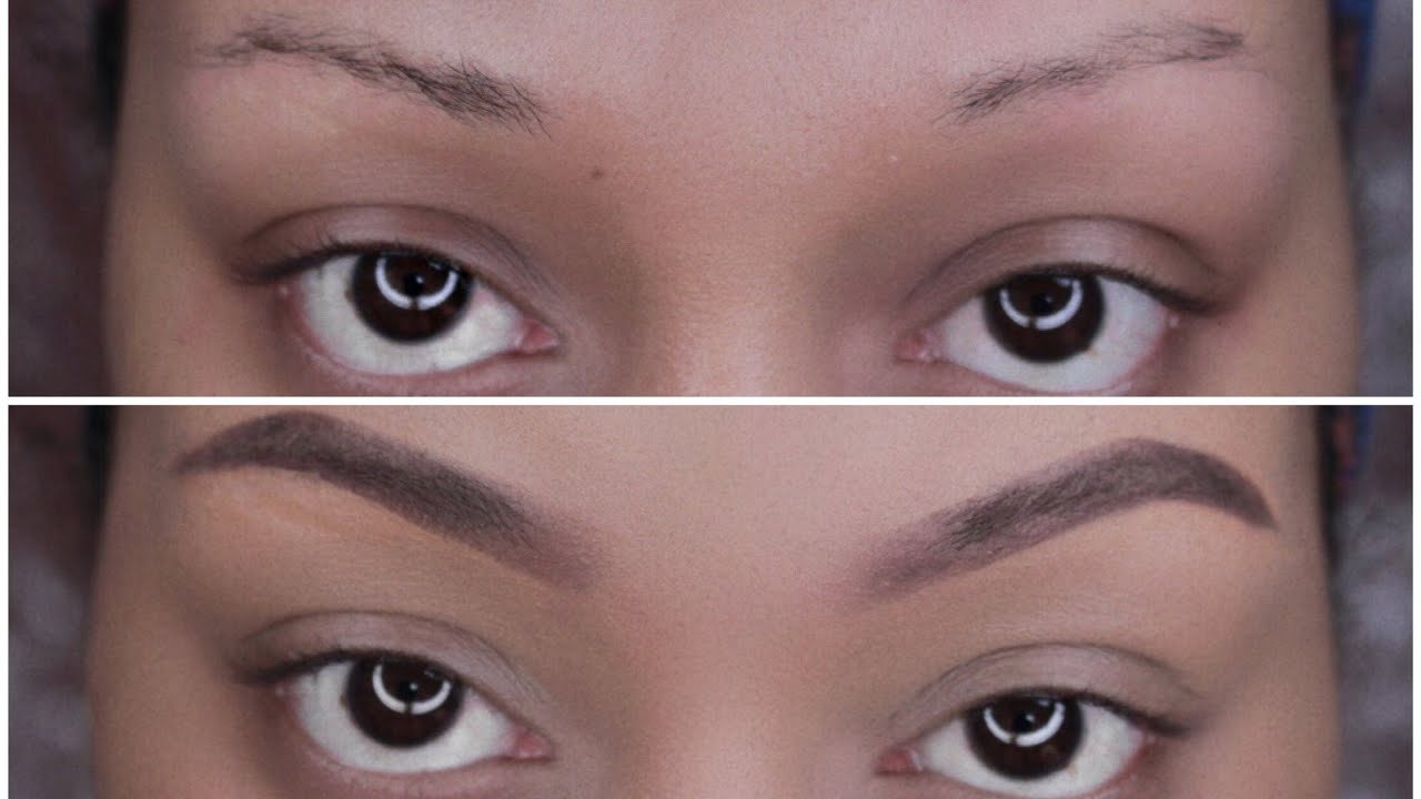 Eyebrow Tutorial Thin To Full Eyebrows In Less Than 5 Minutes Youtube