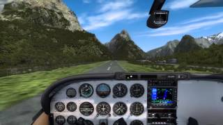 Novice's Journey in Learning to Land the A2A C182 (P3D)