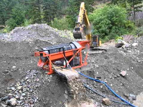 Placer gold mining in BC