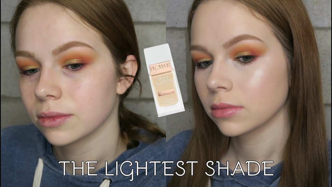 New Flower Beauty Light Illusion Foundation L1 The Lightest Shade
