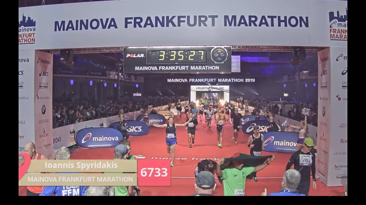 My Frankfurt Marathon 2019 video