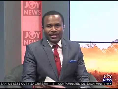 Bribery Scandal - AM Talk on Joy News...