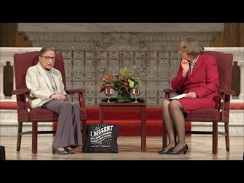 Stanford Rathbun Lecture 2017 Highlights: Ruth Bader Ginsburg