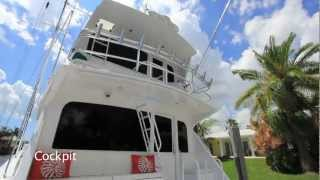 2001 Viking 65' Enclosed Bridge Convertible Sportfish Yacht