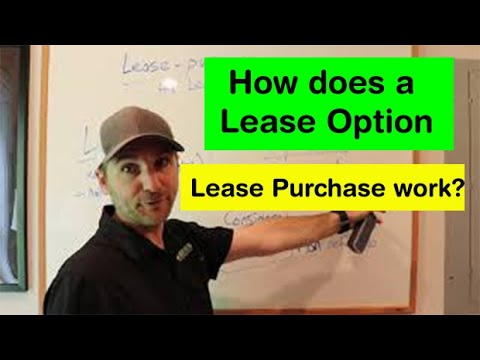 How does a Lease Option - Lease Purchase work?