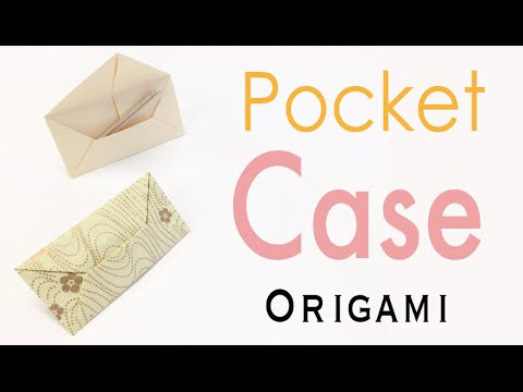 Origami Octagonal Pouch - YouTube | 360x480